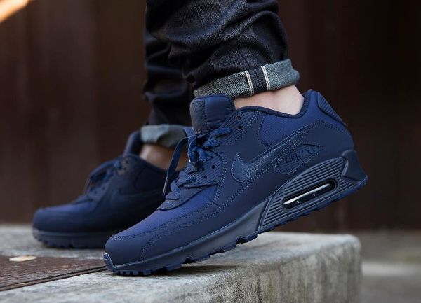Nike Air Max 90 Dark Navy Black Red