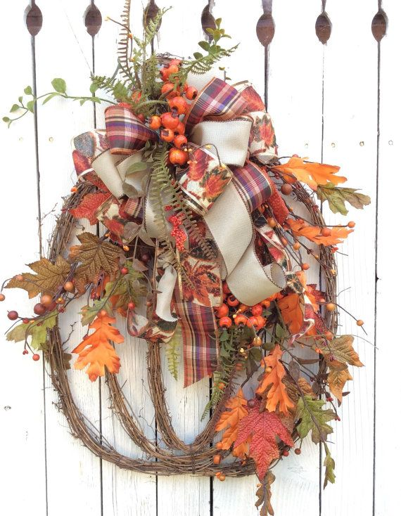 Grapevine Pumpkin Pumpkin Wreath Fall Swag Pumpkin Swag by Keleas, $59.99