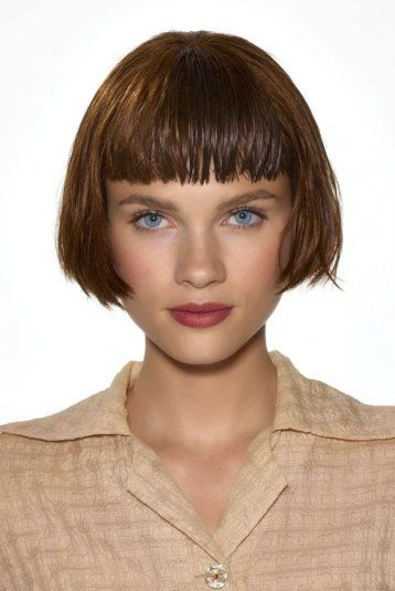 Bob haircut - Flapper style I like short fringes but don't know if it would suit me...