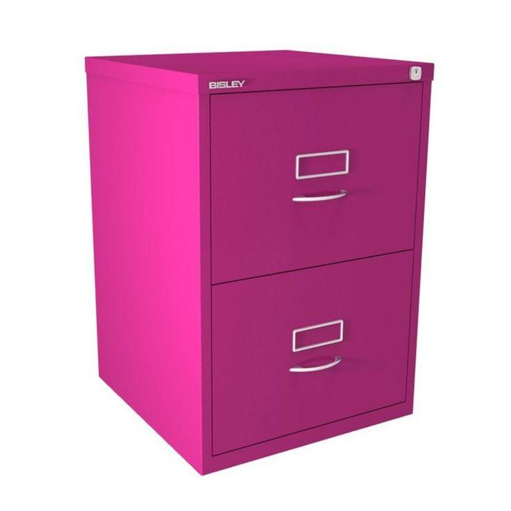 Purple 2 Drawer Filing Cabinet