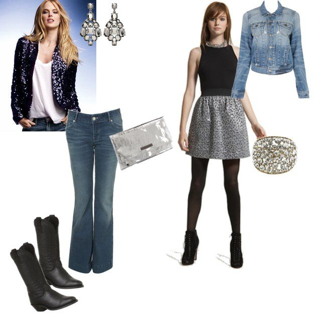 What to wear to a denim & diamonds party - StyleBakery.com | Ask The Style Chefs
