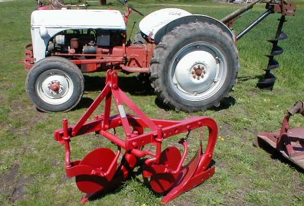 1951 Ford 8n Tractor With Implements For Sale Tractors Ford Tractors 8n Ford Tractor