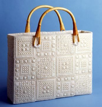 Borsa plastic canvas