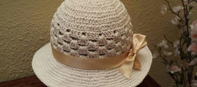 Crochet Bonnet of Summer