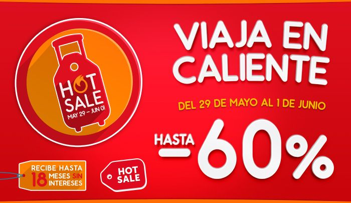 Hot Sale 2015: 29 de mayo al 1 de junio - http://revista.pricetravel.com.mx/promociones/2015/05/27/hot-sale-2015-29-de-mayo-al-1-de-junio/