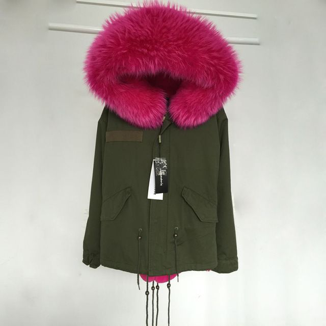 2015 New Women Winter Army Green Jacket Coats Thick Parkas Plus Size Real Raccoon Fur Collar Hooded Outwear 5 Day Delivery time US $152.71 /piece     CLICK LINK TO BUY THE PRODUCT   http://goo.gl/4du0DP