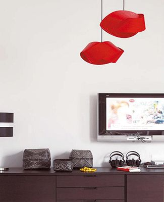 contemporary-pendant-lighting-design-fixtures-red-lamps