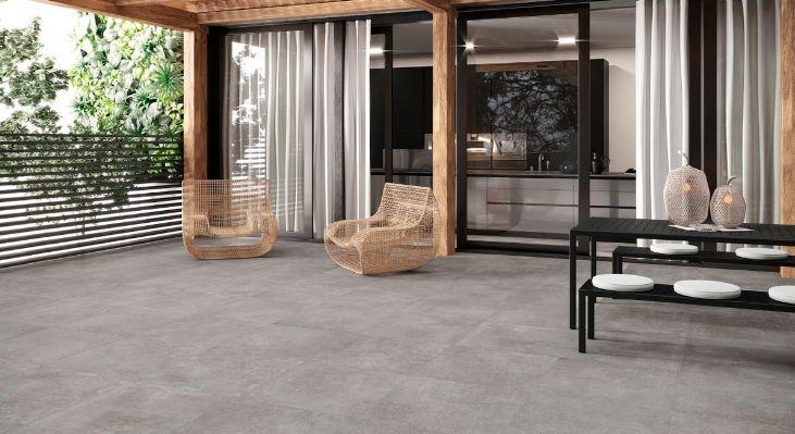 Terrasse en carrelage gris 60x60 rectifié. Découvrez nos dernières tendances et nouveautés en ...
