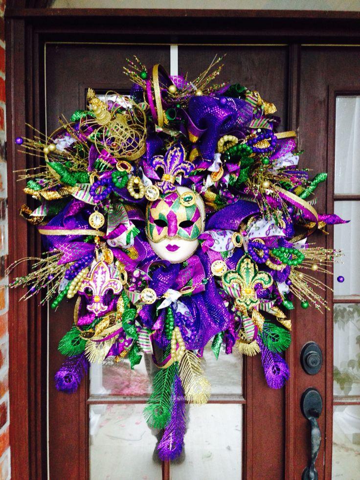 die besten 25 karnevalkranz ideen auf pinterest karneval dekorationen mardi gras und deko. Black Bedroom Furniture Sets. Home Design Ideas
