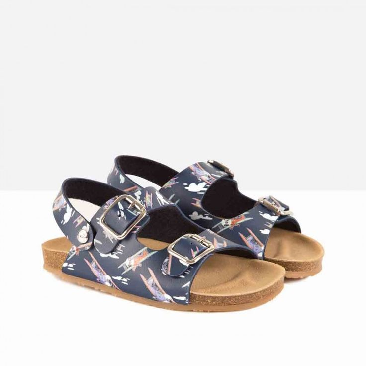 Sandalias de Niño Bio Avionetas - Calzado - Niño - Conguitos #conguitos #niño #shoes #collection #ss18 #sandalias #bio #avionetas