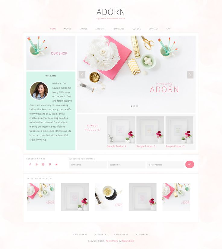 Adorn by Pink & Press