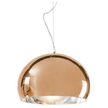 FL/Y taklampe Kartell Kobber | Lampehuset