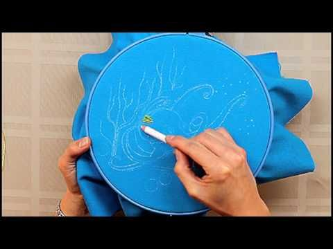 DMC Advanced Surface Embroidery Techniques. - Great overview of options that DMC floss gives.