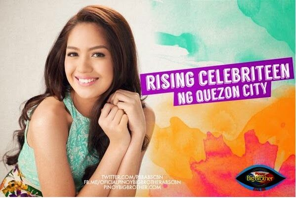 "Pinoy Big Brother housemates photos - Jane Oineza - ""Rising Celebriteen"""