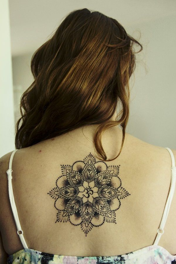 53 of the best mandala #tattoos of all time. These beautiful tatts are spiritual showstoppers.