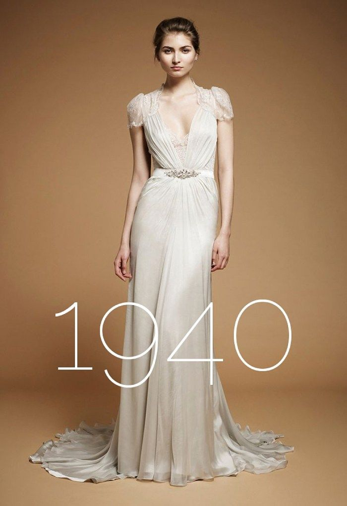 vintage wedding dress 1940s