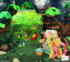 ExEQ Fluttershy Cottage 02 (DerpyDerp910) Tags: toy little cottage explore pony hasbro mlp mylittlepony my fluttershy equestria brony derpyderp910