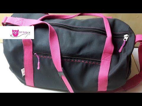 Dufflebag Sporttasche nähen / DIY Eule - YouTube | Bags! | Pinterest ...