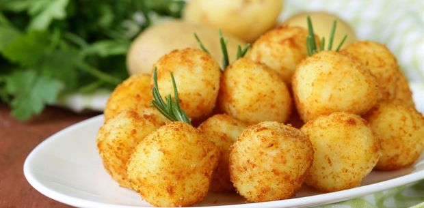 fried mashed balls