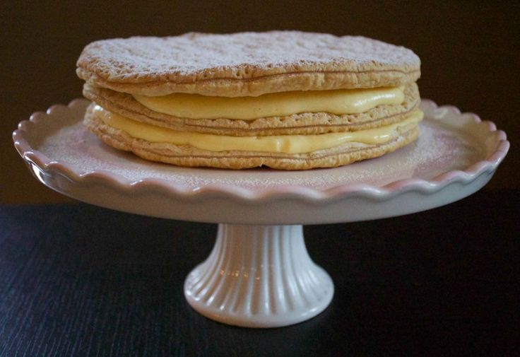 Torta Millefoglie, ricetta originale