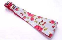 Opaska bawełniana duża, róże- Fabricate