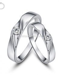 Cincin Kawin Palladium 50% Sepasang - GD22086 cincin kawin muslim