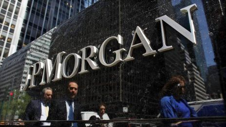 JP Morgan and Wells Fargo post big jump in profits