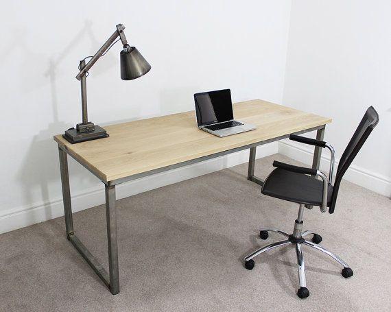 best 25+ industrial office desk ideas on pinterest | office desk