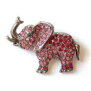 17 Best Images About Brooches Of Elephants On Pinterest