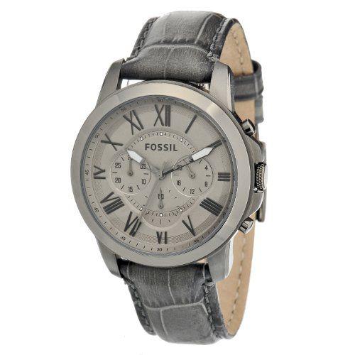 Fossil(フォッシル)Fossil Men's FS4766 Grant Grey Leather Watchの商品詳細ページです。青山時計店は海外ブランドの日本未入荷モデルなどの腕時計正規品を取り扱う腕時計通販専門店です。ロレックス、オメガ、カルティエなどの有名ブランドはもちろん日本未上陸ブランドも多数格安で販売しております。