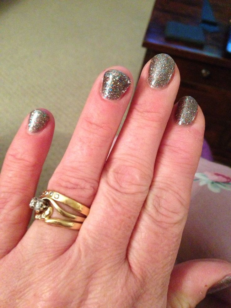 Calgel Nails done by Susan-Truly Scrumptious Salons.