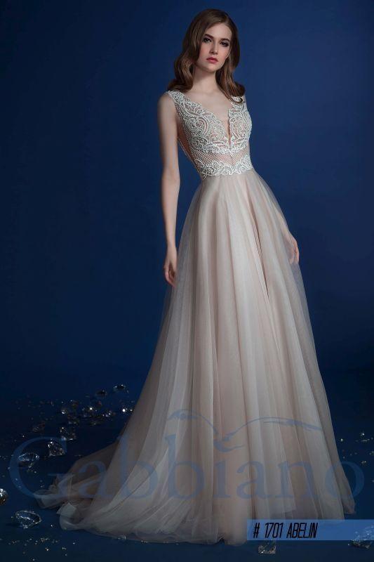 Абелин - Прямые свадебные платья