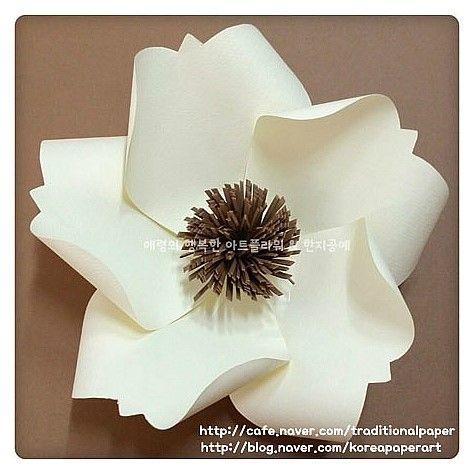 종이꽃 (머메이드지 와 펄지) : 네이버 블로그