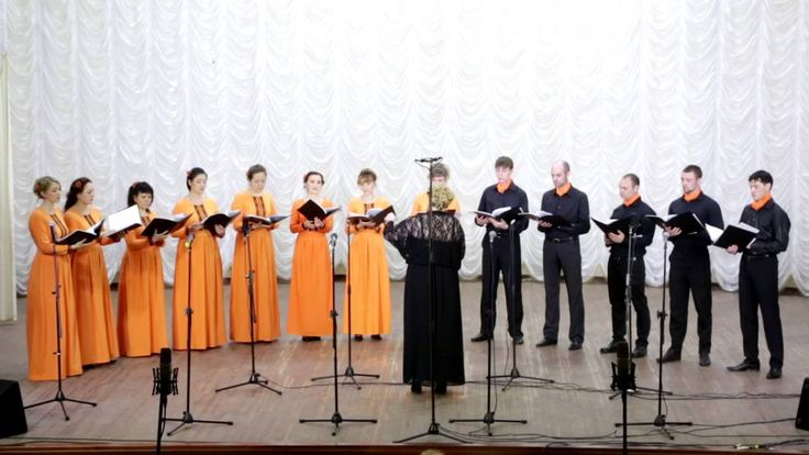 Хор акапелла-церковное творчество №3 HD. Вокальное хоровое пение eliseev...