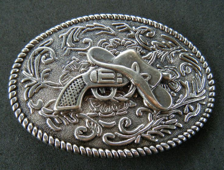 Western Guns Hats Colt Cowboy Cowgirl Rodeo Belt Buckle Belts Buckles