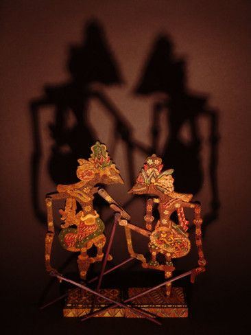 Javanese Shadow Puppets Photographic Print by Abdul Kadir Audah at AllPosters.com