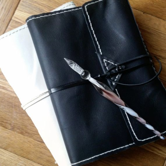 Support handmade - Ideal gifts - wedding, anniversary, travel or #graduation at www.bespokebindery.co.uk Notebook cover,Leather journal cover,leather notebook cover,refillable leather journal,leather binder,leather planner cover,agenda cover  Various colours available - please... #buyhandmade #etsywedding #travelernb #honeymoon #audacioustextiles