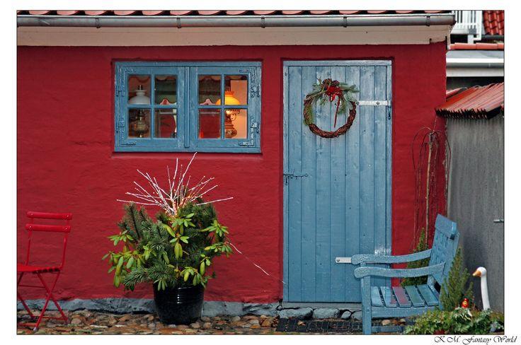 Backyard in Ringkøbing @ Christmas Time