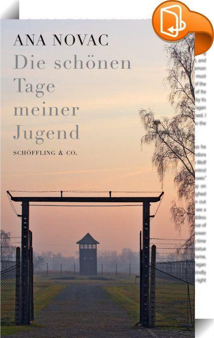 Die schönen Tage meiner Jugend    :  DIE SCHÖNEN TAGE MEINER JUGEND ist ein einzigartiges Dokument: das Tagebuch einer vierzehnjährigen Jüdin aus Siebenbürgen, das sie in Auschwitz und anderen Konzentrationslagern heimlich führte. Nicht ein nachträglich erinnerter Bericht, nicht ein Tatsachenroman, kein dialogisierter Prozess: ein authentisches Zeugnis davon, dass auch das Grauen seinen Alltag hat.  Es ist eine makabre Zerrwelt, in der das junge Mädchen lacht und weint, hungert und iss...