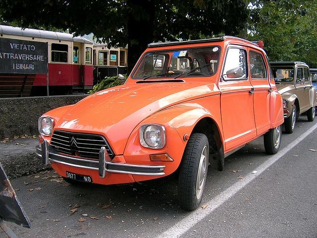Citroën Dyane 6 by Maurizio Boi, via Flickr
