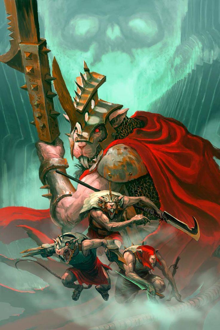 Bloodletter of khorne in 2020 warhammer art warhammer