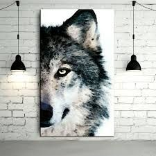 Image result for abstract wolf painting