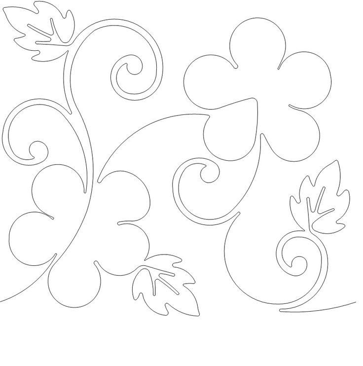 Laura - 1558 - USD .015 Long Arm Quilt Patterns Pinterest