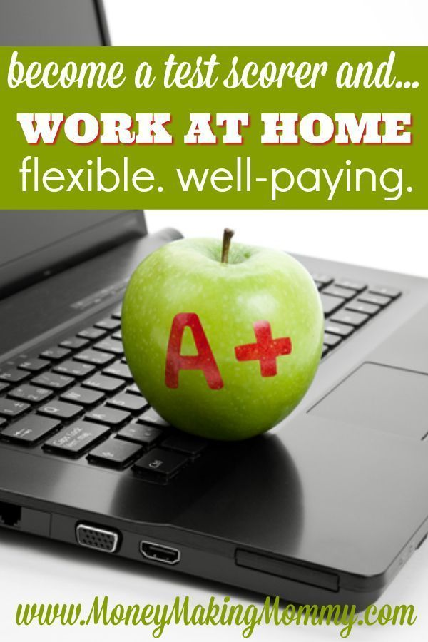 If you're looking for a position that allows you to work from home, then becoming a test scorer might be a perfect fit. It's somewhat flexible and most positions pay well. To find out the qualifications and how to apply read more at MoneyMakingMommy.com.