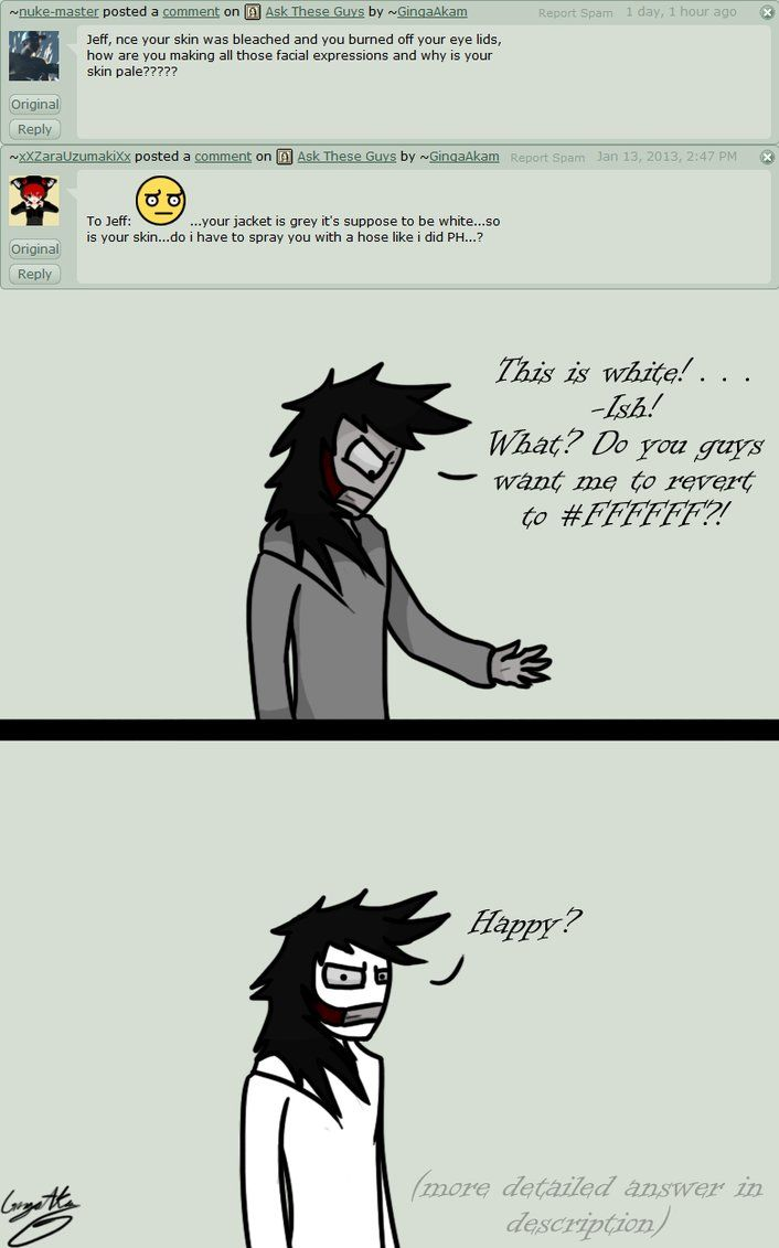 Ask - Question #47 by GingaAkam on deviantART