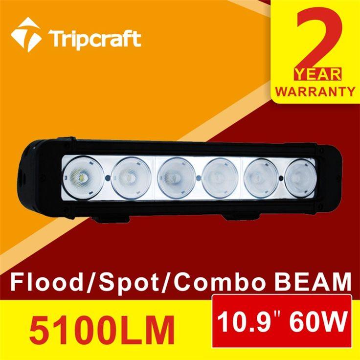 60w led car light bar12v dc 60w led driving headlights for automobiles&motorcycles/auto spare parts