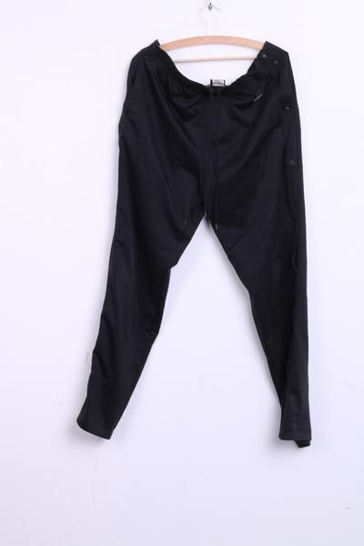 Champion Mens L Trousers Pants Tracksuit Bottoms Black Sport - RetrospectClothes