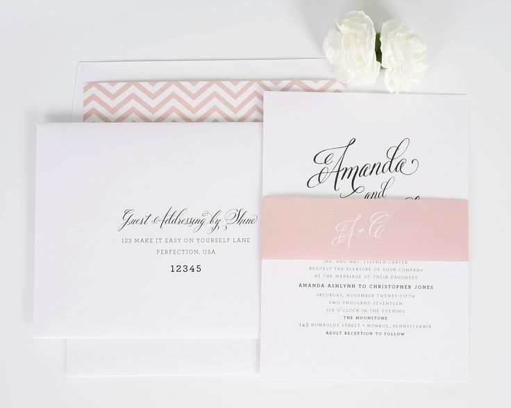 Rustic Modern Wedding Invitations - Wedding Invitations by Shine