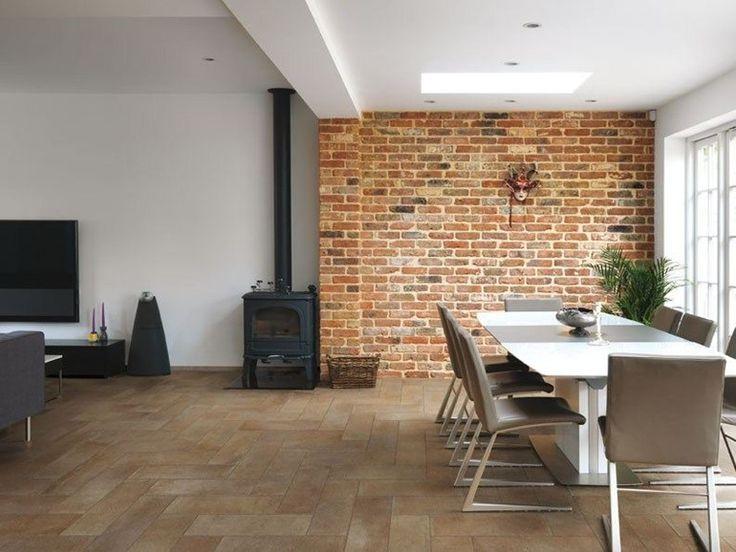 Anti-slip wall/floor tiles with terracotta effect VERVE - CERDOMUS