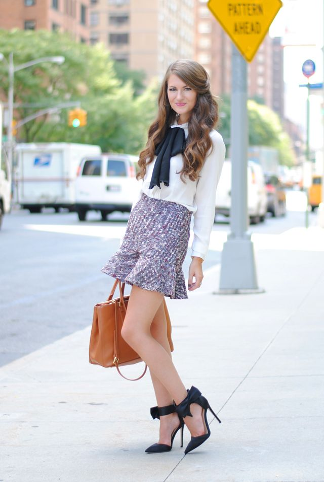 Love the shoes with the bow!